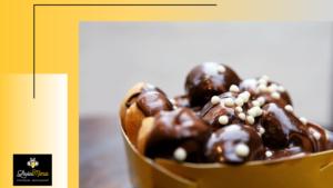 Λουκουμάδες με σοκολάτα, σκέτο όνειρο