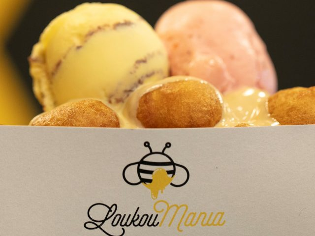 #loukoumades_ice cream